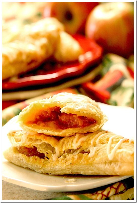 Caramel Apple & Pumpkin Turnovers - easier to make than you'd think!