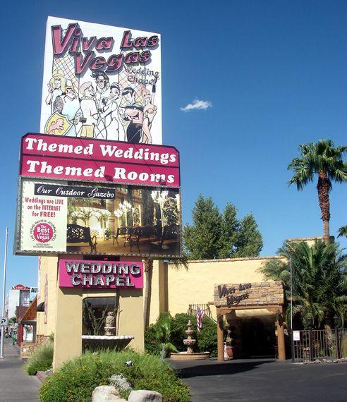 fun wedding chapels in las vegas