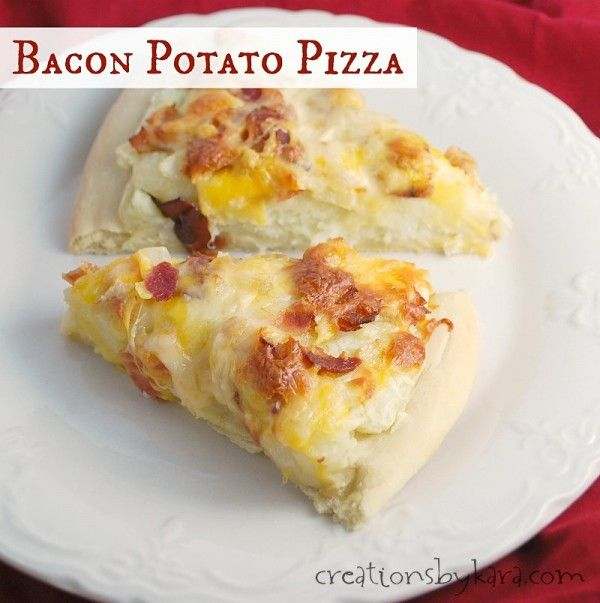 Potato Bacon PIzza Recipe