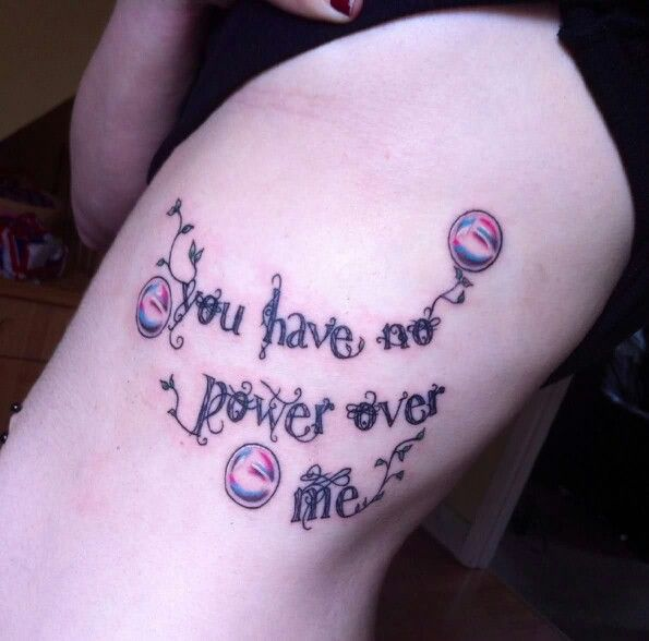 Labyrinth quote...love it, want it | Tattoo inspiration ... Labyrinth Movie Quotes You Have No Power Over Me