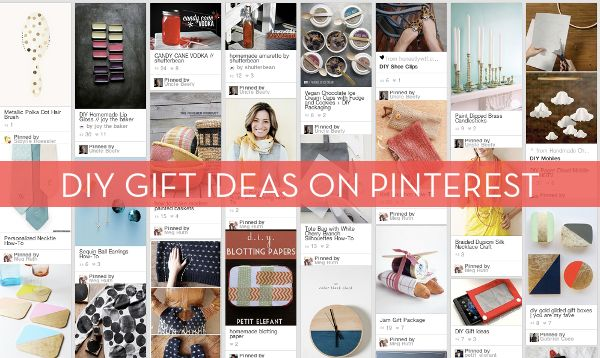 DIY Gift Ideas Galore Our Pinterest Official Board
