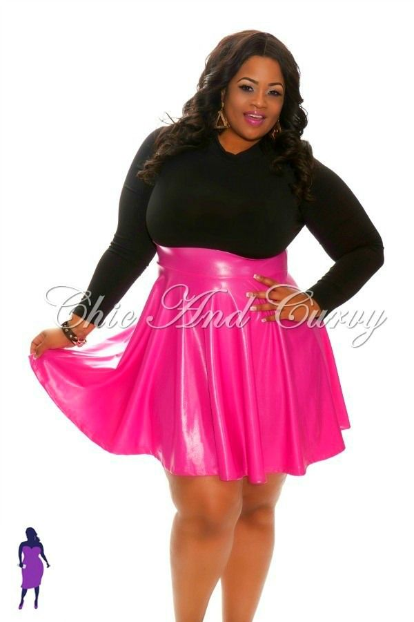 Plus Size Hot Pink And Black Dresses - Prom Dresses Cheap