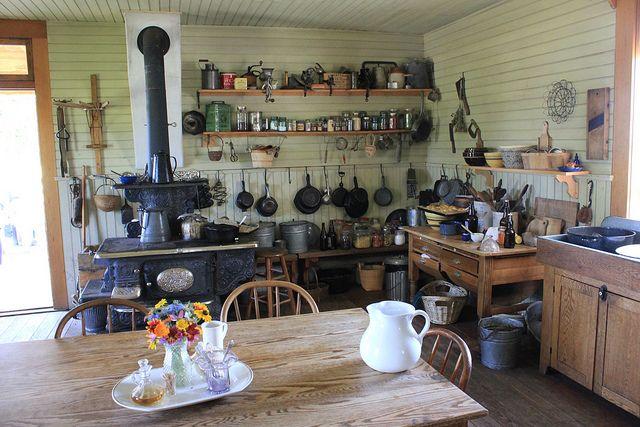1880s kitchen. | Kitchens | Pinterest