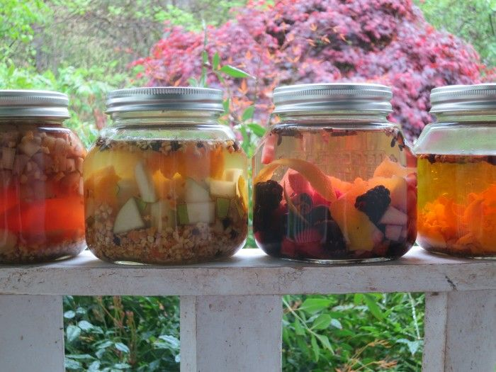 Homemade bitters (Not a recipe, but I like jar idea... I need to buy ...