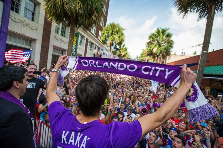 Kaka greets Orlando City fans