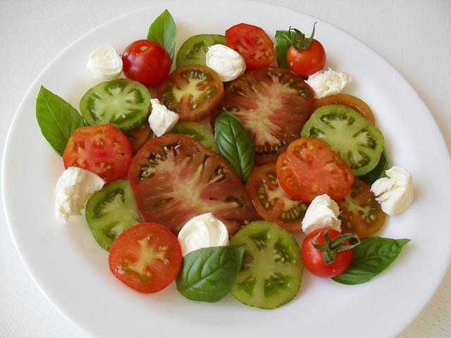 Heirloom Tomato Caprese Recipes — Dishmaps