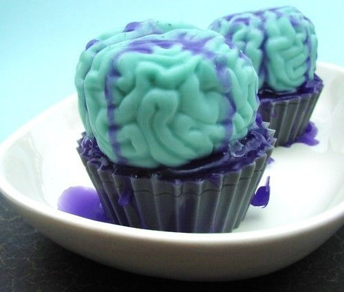 Brain cupcakes | Foods & drinks ♡ | Pinterest
