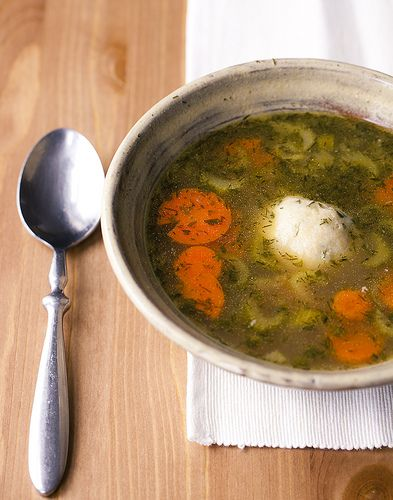 Home/sick: Chicken Soup with Matzo Balls - Snap Food
