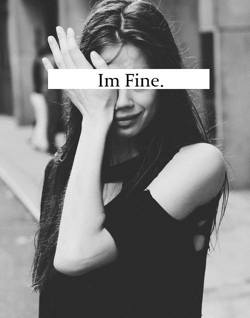 Girl I'm Fine Tumblr