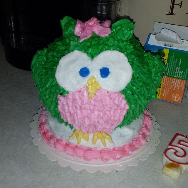 Birthday Cake Images Emily : Emily s Owl birthday cake First birthday Pinterest