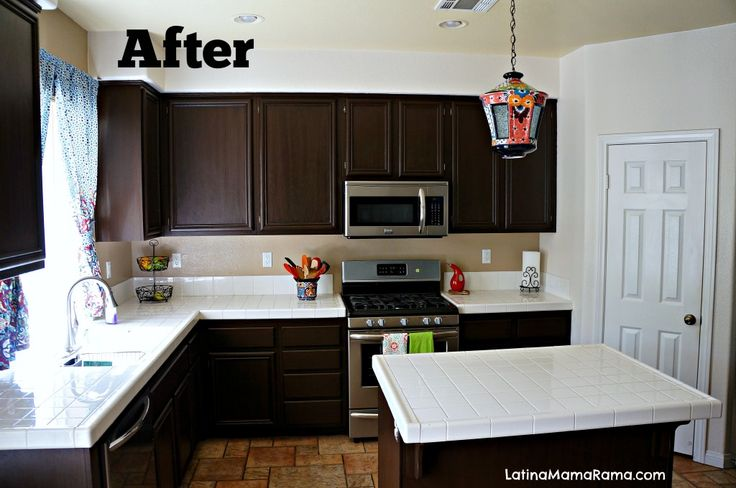 How to refinish your kitchen cabinets for How refinish kitchen cabinets