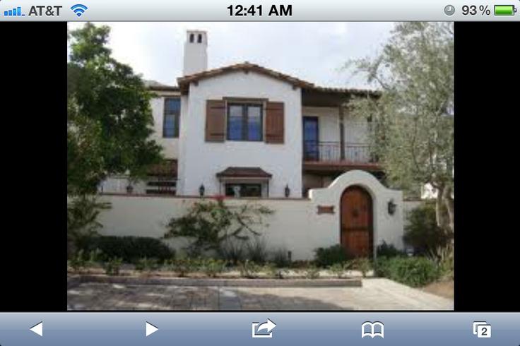 Exterior spanish style spanish style home deco pinterest - Spanish style homes exterior ...