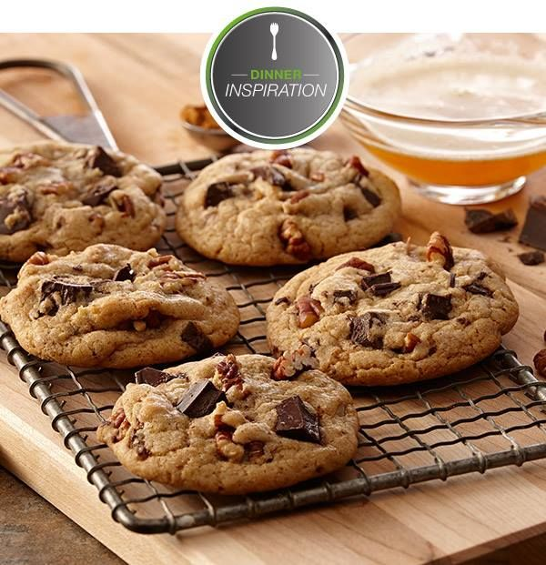 pecan and chocolate chunk cookies. | Cookies/Bars/Balls and Bites | P ...