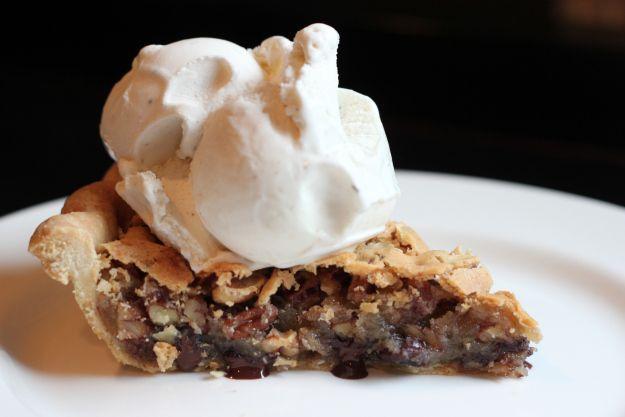 "Kentucky ""Dirty"" Bourbon Pie Recipe — Dishmaps"
