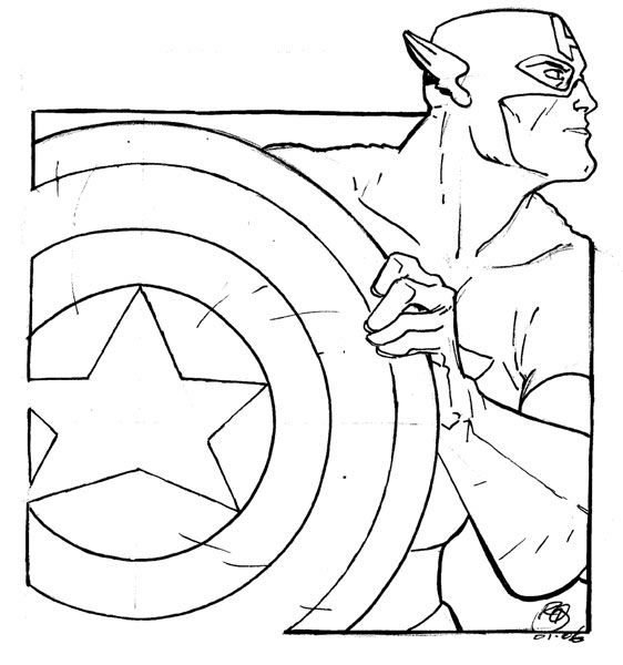 Line Drawing Usa : Captain america line drawing art ideas pinterest