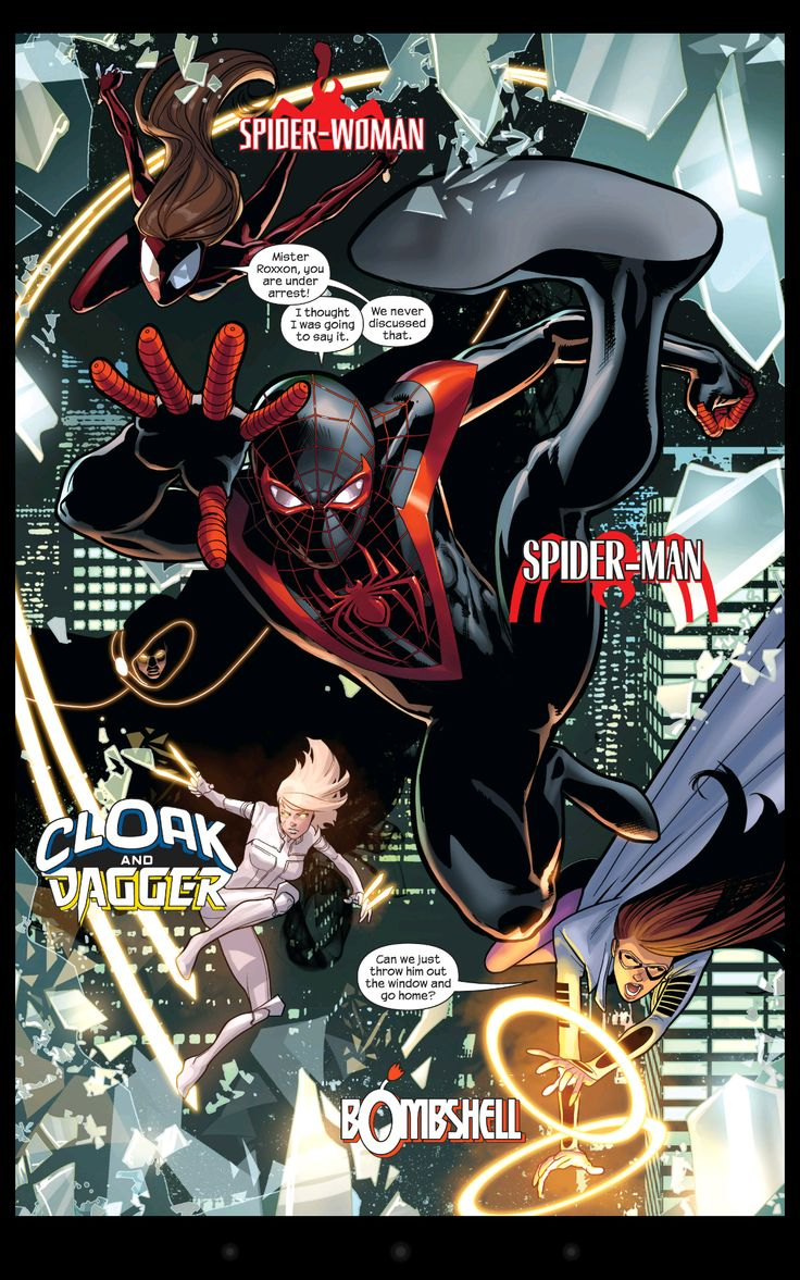 Ultimate spider man comic - photo#14