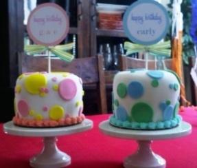 Itty Bitty Birthday Cakes! | My baking creations! | Pinterest