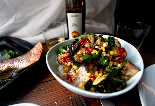 Grilled Vegetable and Rice Salad with Fish Sauce Vinaigrette. I'm not ...