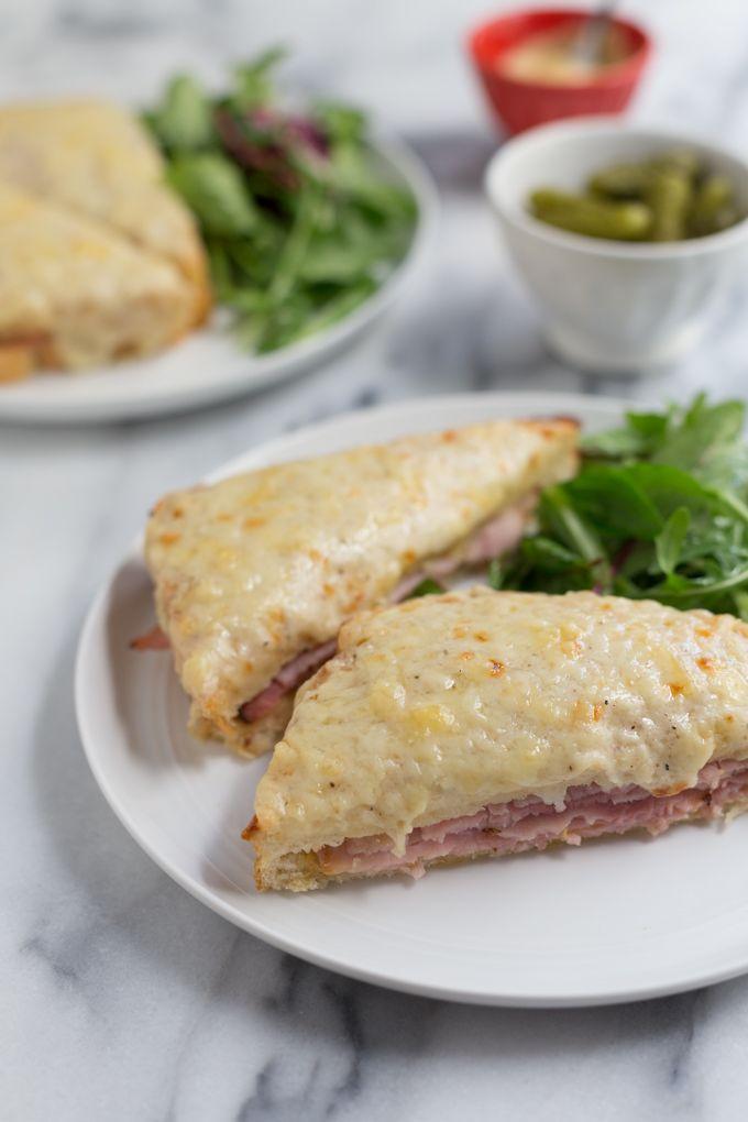 Croque Monsieur | The Simple Fare | Sandwich | Pinterest