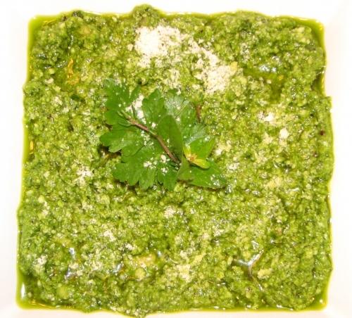 fresh herb pesto artisticbeing | Dinner entrees | Pinterest