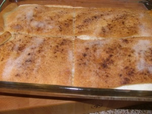 Cinnamon Cream Cheese Bars | Sweets for the Sweet | Pinterest