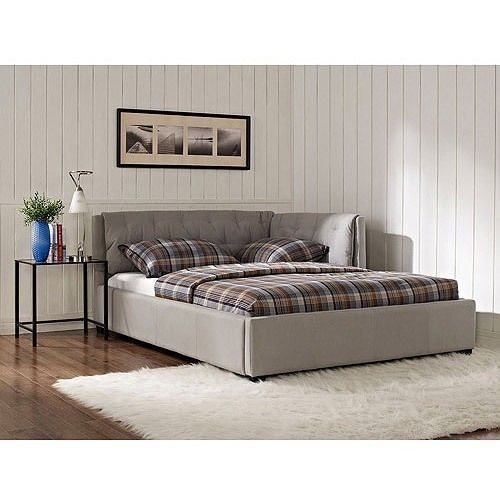 gray full lounge day bed dorm room bedroom furniture home living decor
