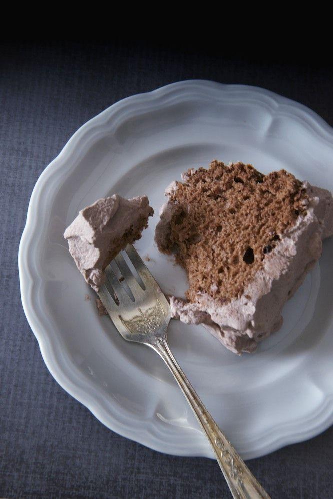 Chocolate Angel Food Cake | Recipes | Pinterest