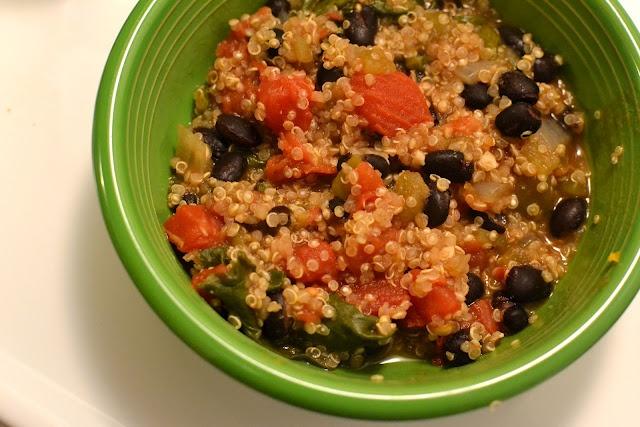 Black Bean Tomato Kale Quinoa   Recipes to Try   Pinterest