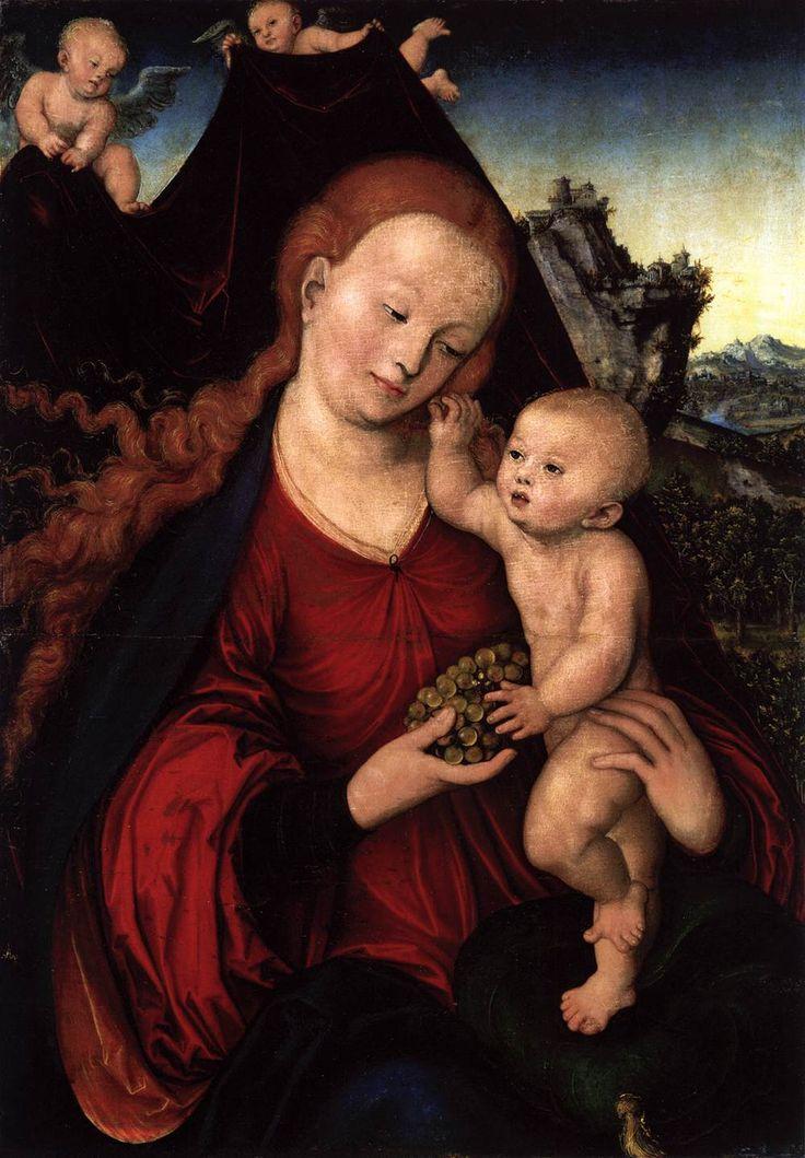 Cranach The Elder Venus And Cupid Lucan Cranach The Elder Venus