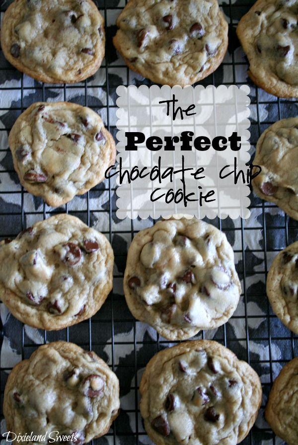 perfect chocolate chip cookies | dessert | Pinterest