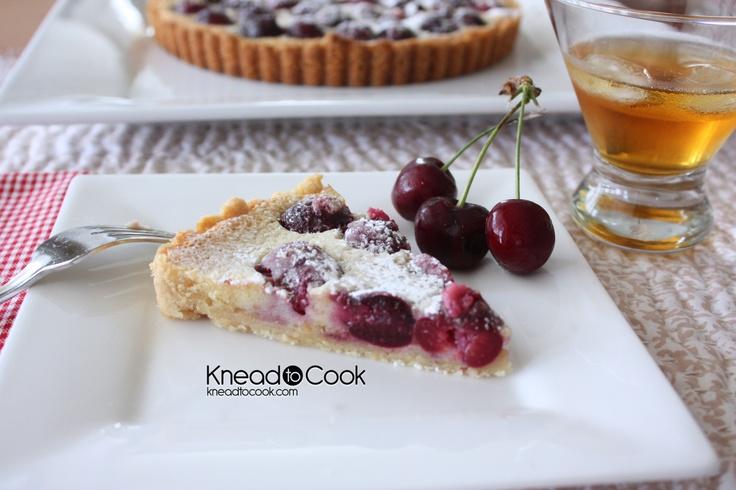 Cherry-Amaretto Tart Recipes — Dishmaps