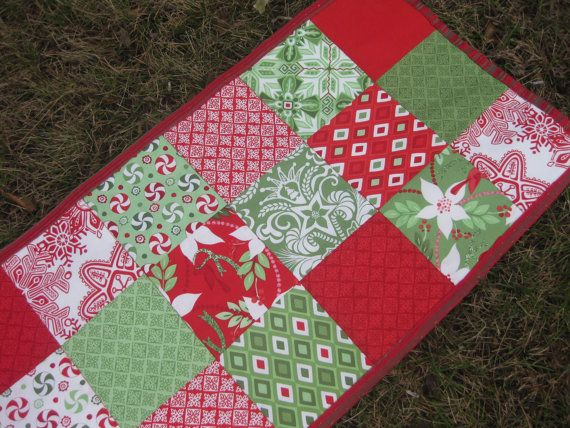 Christmas Runner Pinterest Craft Christmas table craft   Table christmas runner  Crazy