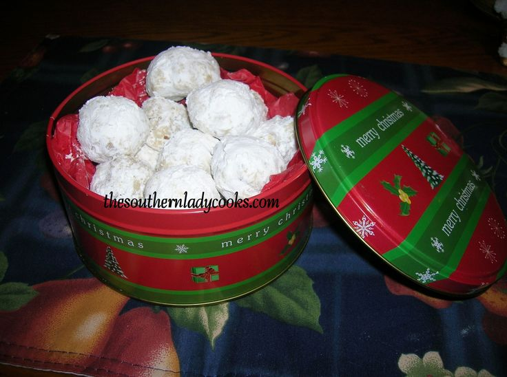 MEXICAN WEDDING COOKIES - Gram called them Russian Tea Cakes, but ...