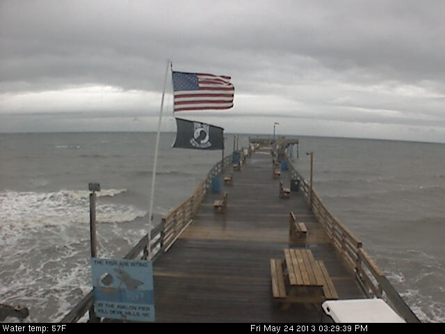 avon north carolina fishing pier cam