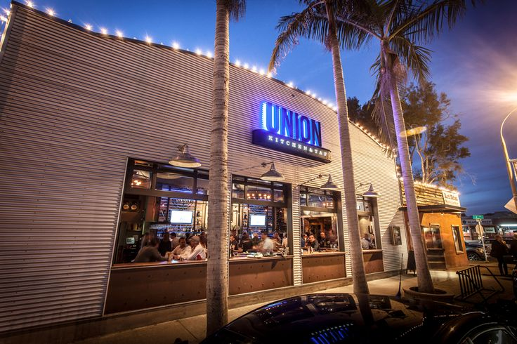 Backyard Kitchen And Tap Menu : Encinitas, CA  Union Kitchen and Tap Behind a facade of giant roll