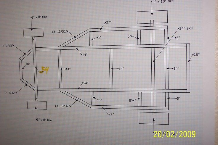 Frame plans go kart parts pinterest for Golf cart plans