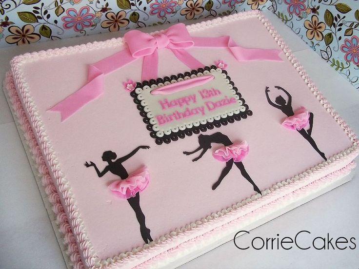Ballerina cake by corriecakes all buttercream pinterest for Ballerina cake decoration