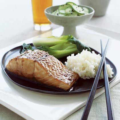 Soy-Glazed Salmon | Recipe