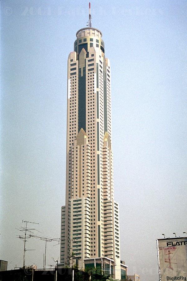 Baiyoke Tower II (Bangkok) - 304 Metros.  Skyscraper  Pinterest