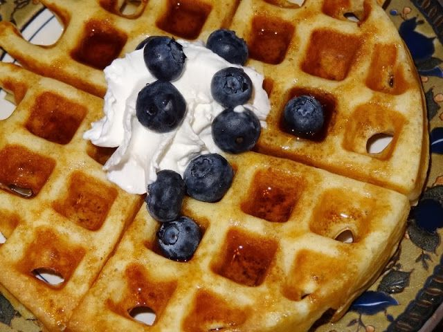 What's cookin', Mom?: Classic Waffles | my food blog | Pinterest