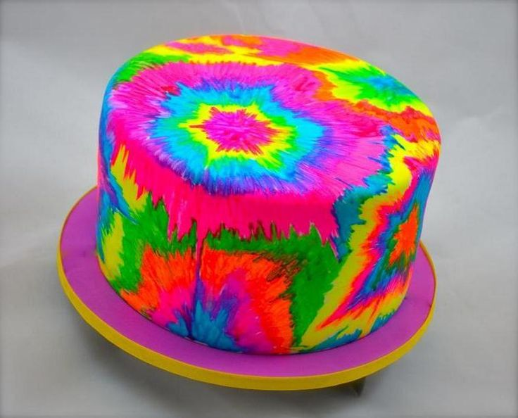 tie dye cake images in cakepins shakin bakin