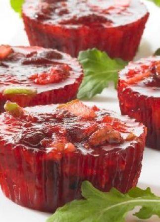 Cranberry-Pineapple Minis – Plain ol' cranberry sauce is so last ...