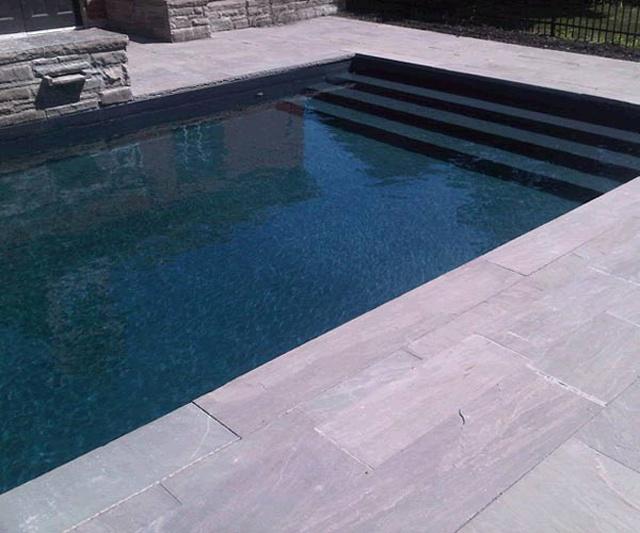 Color Lennox Black Granite Pools Pinterest