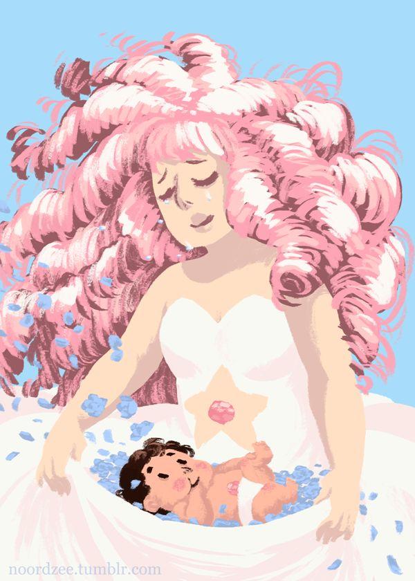 Rose Quartz  Steven Universe s mother Rose Quartz Steven Universe