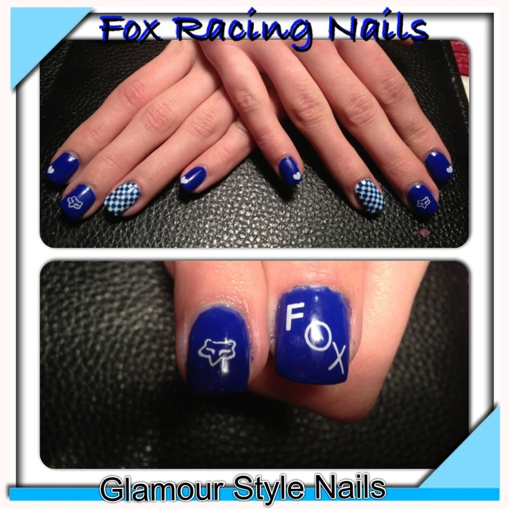 Fox Racing Nail Art Decals: Gallery for gt fox racing nail decals.