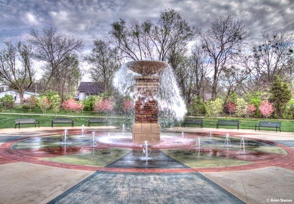 Dogwood Park in historic downtown #Cookeville #parks