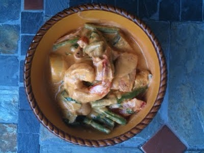 Mixed Seafood Red Curry #paleo | Have to Try Food & Drinks! | Pintere ...