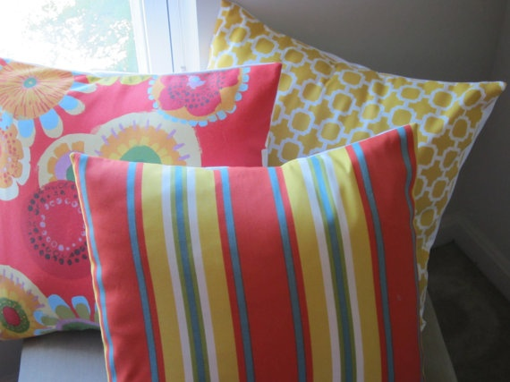 PICK THREE  Indoor/Outdoor Fabric Pillow by BristowTreasures, $90.00
