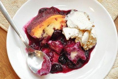 Blueberry Port Cobbler | Tasty Kitchen: A Happy Recipe Community!
