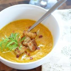 Spiced Carrot Soup | Food | Pinterest